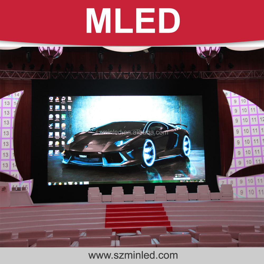 Indoor die-casting P3.9mm rental LED screen/LED display with 500X1000mm size panel design for advertising/concert/event/studio
