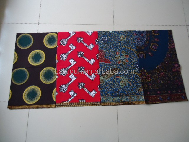 african wax prints fabric 100% cotton 40x40 96x96