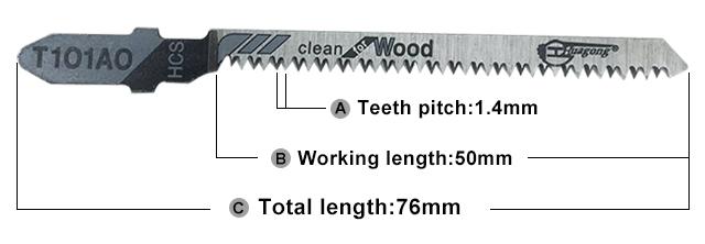 Cheap price wholesale metal 76mm jigsaw blade jig saw blade
