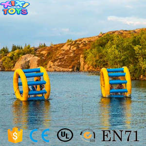 pool toys inflatable hamster roller wheel / Floating inflatable water sport games