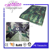 reinforced polyethylene rubber coated camouflage tarp military tarpaulins