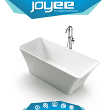J-D8020 white color fresh acrylic classic Soaking Bathtub