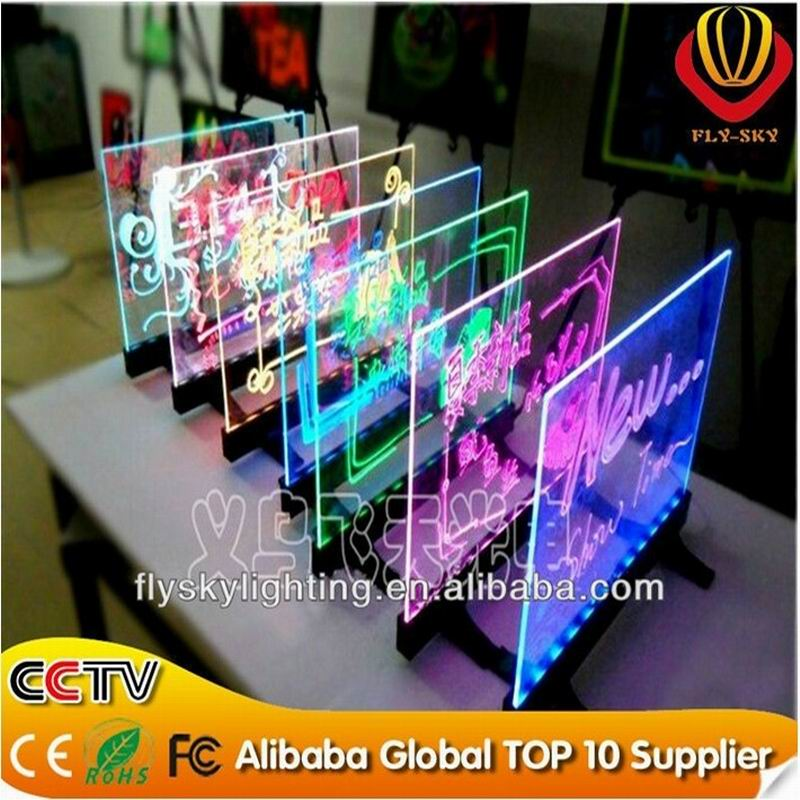 New Items In Yiwu Market Table Led Writing Board/mini Led ...