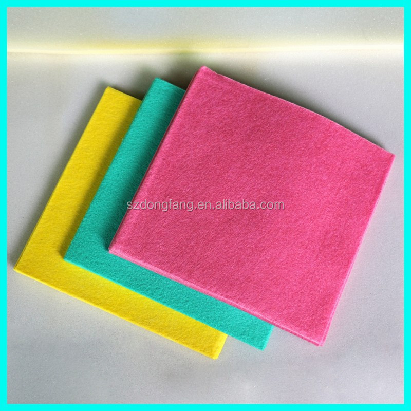 Super Absorbent Needle Punched Wipping Cloth (Nonwoven FACTORY)