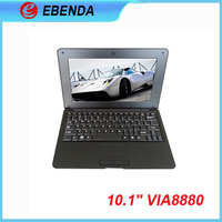 Cheaped laptops 10 inch laptops 4GB /1GB Ram netbook/notebook,VIA8880 MINI Laptops