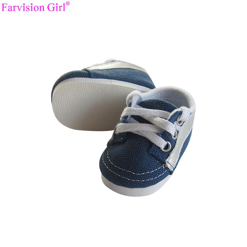 035f3f3324226e kids dolls toy sneakers strap sport shoes for american boy doll make doll  shoes 16 inch