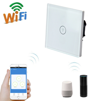 Alexa Enabled Wifi Controlled Smart Light Switch Wireless Remote Timer