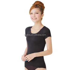 Women Breathable Underwear Shapewear Quick Dry T-shirt Body Shaper Y07