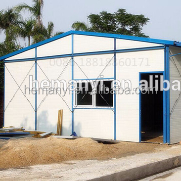 low cost prefab living house temporary prefabricate assembled house