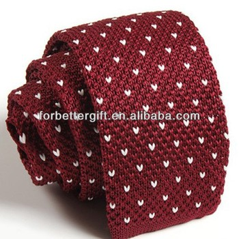 Polyester Knitted Necktieshand Knitted Tiesknit Tie Pattern Buy