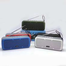 L8 super bass <span class=keywords><strong>bluetooth</strong></span> waterdicht subwoofer draagbare retro speaker box met antenne