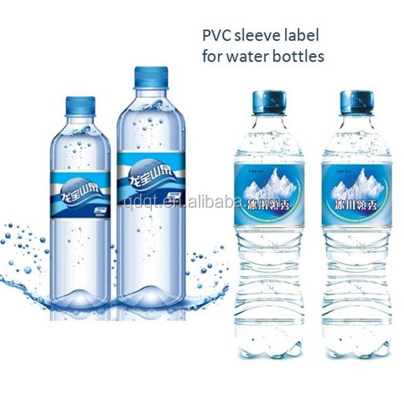 Customized Plastic Mineral Water Bottle Label - Buy Water Bottle ...