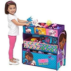 Delta Disney Doc McStuffins Multi-Bin Toy Organizer, Blue by Delta Disney
