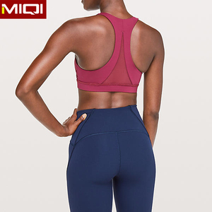 Miqi Best Selling Hot Yoga Sports Women Sexy Bra plus size sports bra