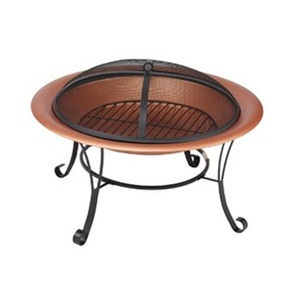 Outdoor Sturdy steel construction BBQ brazier charcoal table portable fire pit