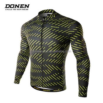 9c7cf5f4b 2017 Donen NEW china made custom high-end longsleeve cycling jersey plain cycling  wear