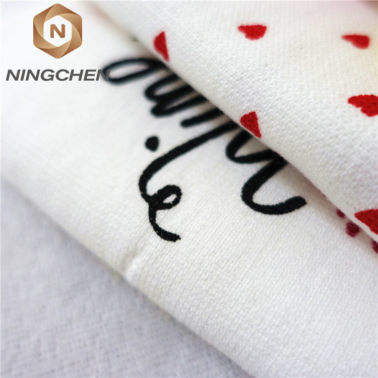 china factory good quality custom printed flour sack tea towel