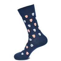 Wholesale Unisex Sublimation and Pattern 100% Cotton Happy Dress Socks