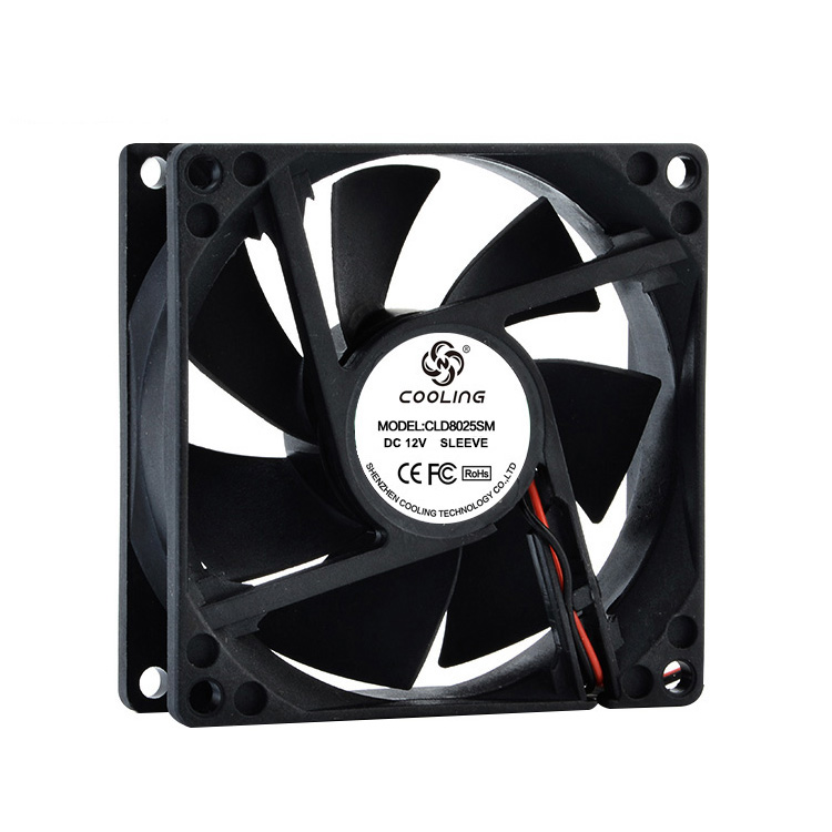 80mm Fan 80X80X25mm DC 12 V 24 V Computer-Fan