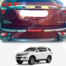 Best selling products in Indonesia market Rear bumper guard skid plate wholesale body kit for MUX 2014