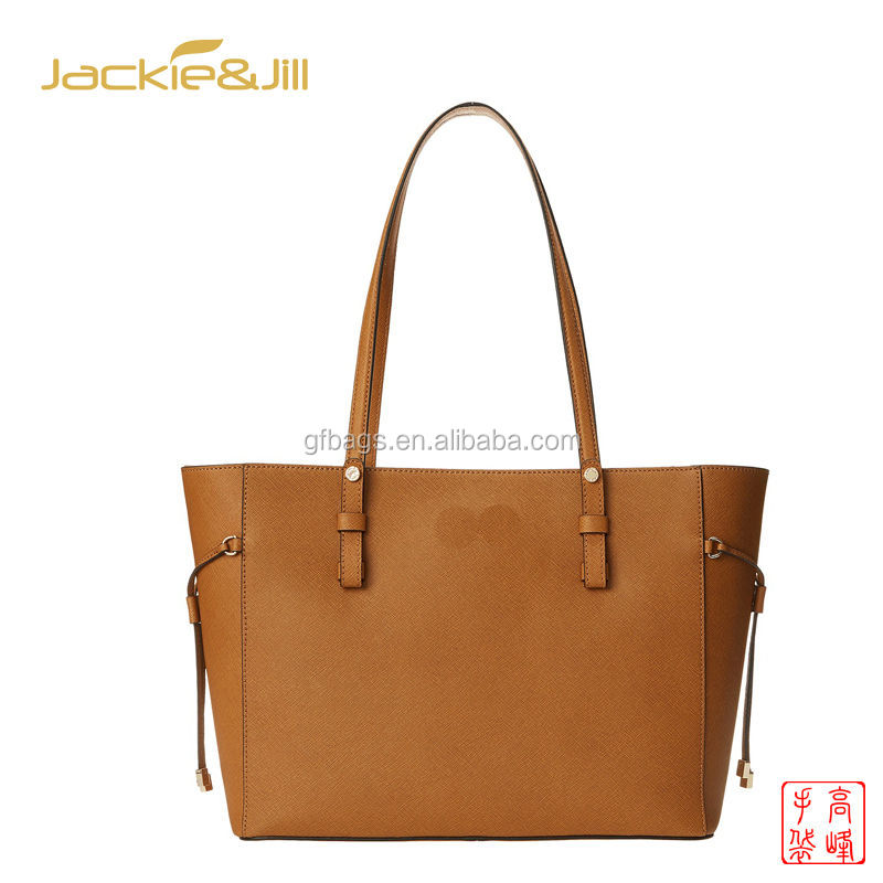 GF-J452 Latest Ladies Fashion orange Tote Bag Handbag Wholesale