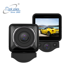 Front & inside & Rear Camera Optional IR Cut Night Vision 2.0inch Triple Camera Car Dvr Triple Lens Dash Cam