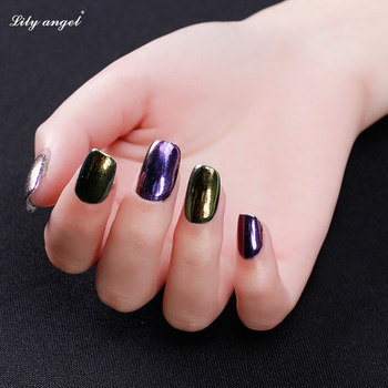 The Newest Lilyangel Hot Sale Chrome Mirror Pigment Nail Powder