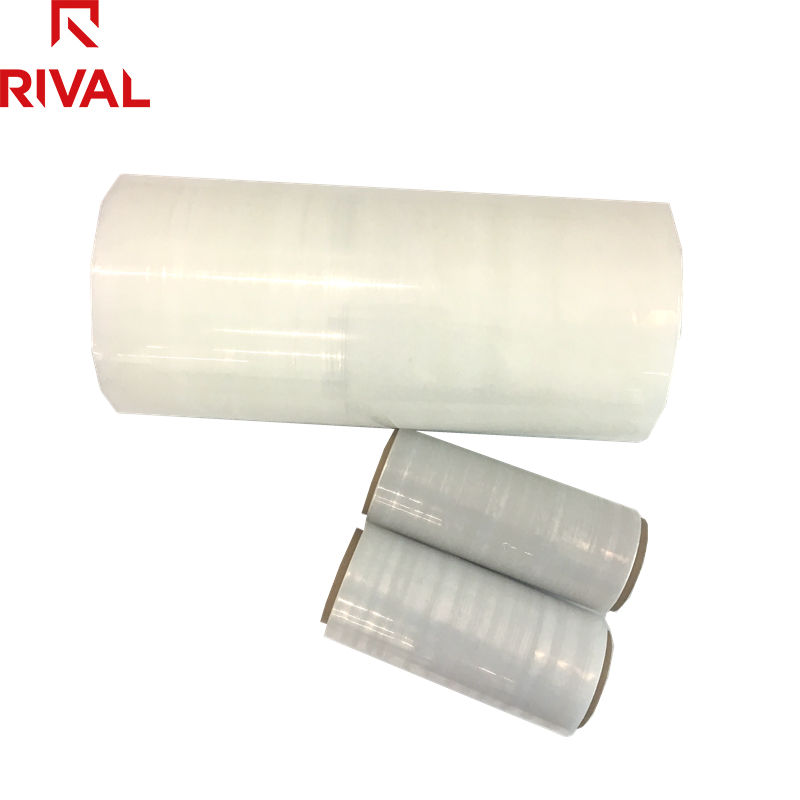 250mm Polyethylen Palette Wrapping LLDPE Stretch Film Jumbo Rollen