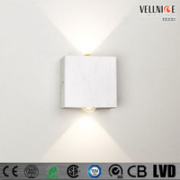 Square up and down Brick Citizen COB 2*3W LED Indoor wall light / W3A0119