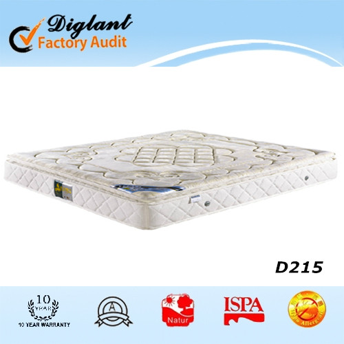 pillow top roll up mattress king round bed mattress