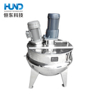 stainless steel electric heating food jacketed cooking kettle, mixing pot/cooking pot with homogenization