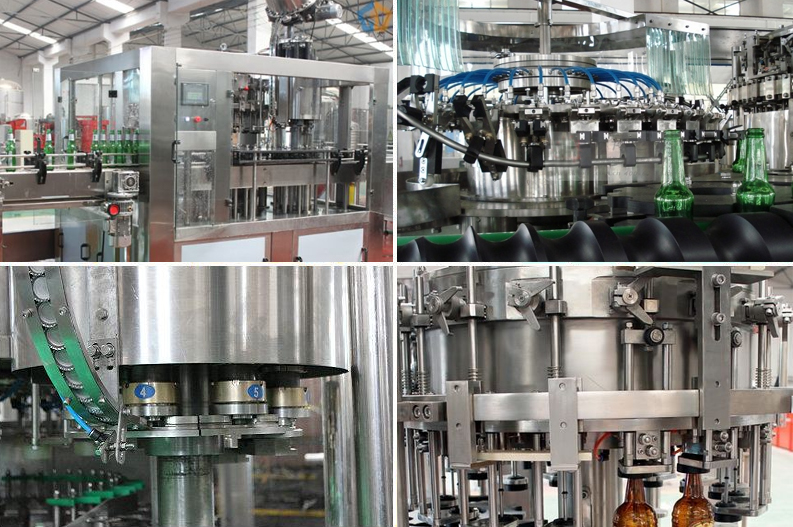 2019 fully automatic beer can filling sealing machine in aluminum can price