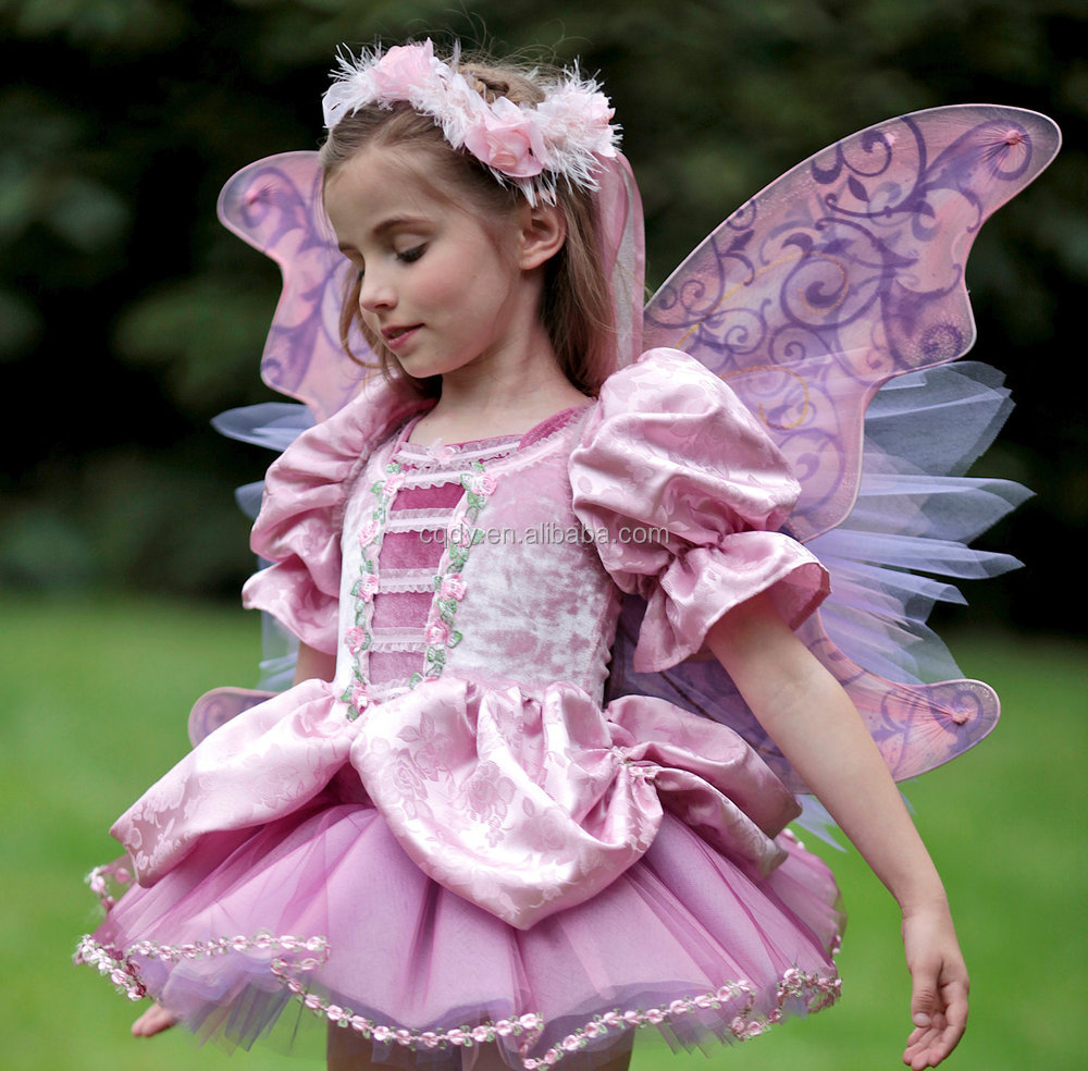 2014 Fashion Fancy Dress Costumes With Butterfly Wings