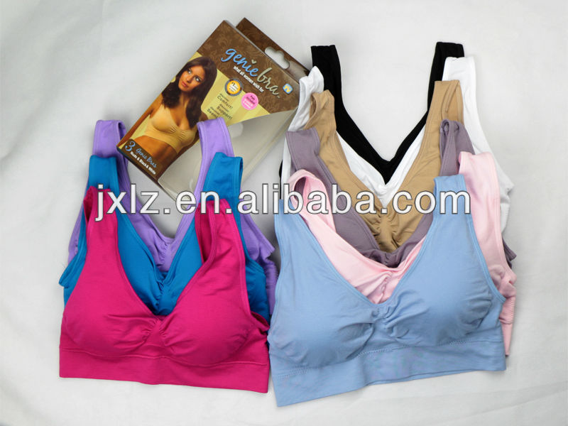 water bag massage seamless one piece bra