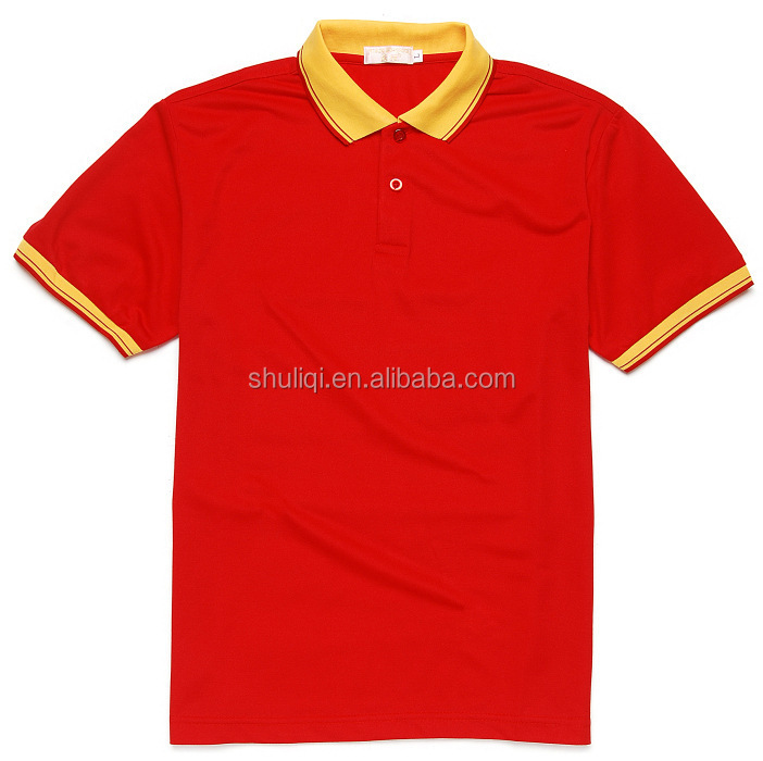 Popular Couple Polo Sport T-shirt Design Wholesale China