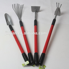 Handle Tools Rake Handle Tools Long Telescopic Steel Tube Handle Trowel Cultivator Rake Hoe Garden Tools With A3 Steel Head
