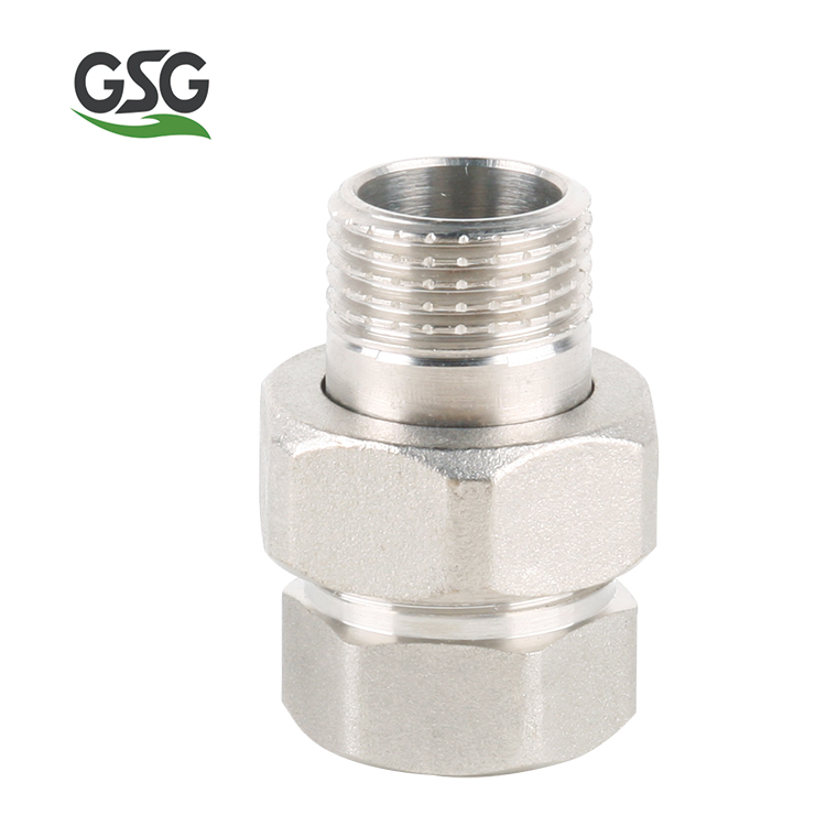 GSG MF317 BRASS FITTING/High Quality Copper Pipe Coupling Joint