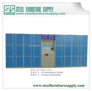 electronic locker system, luggage locker, electronic locker with payment system