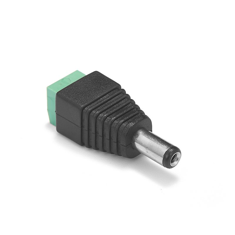 RL-36 5.5*2.1mm Vrouwelijke DC 12 v Power Connector Male Jack Plug Adapter Voor 5050 RGBW LED Strip
