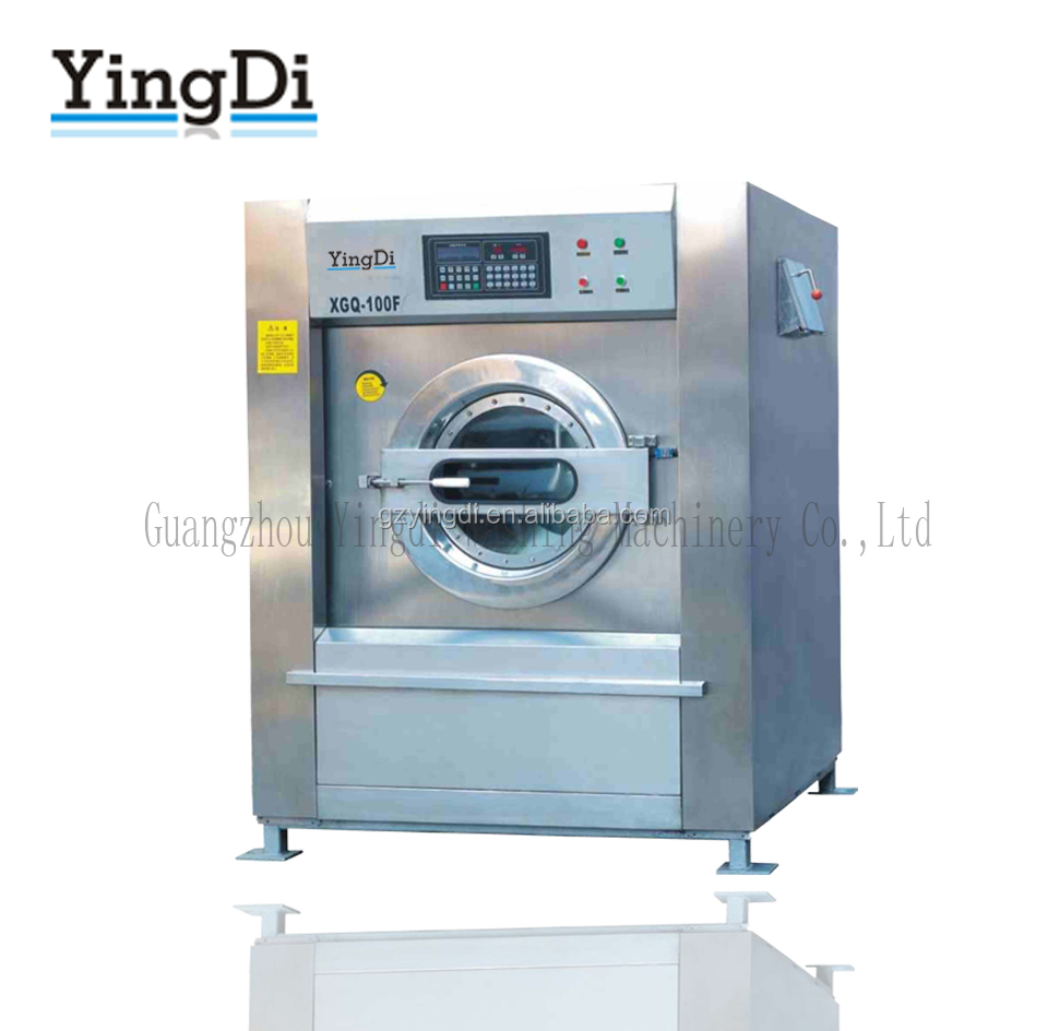 2017 laundry equipments 40kg-50kg capacity industrial washing machine with warranty for sale