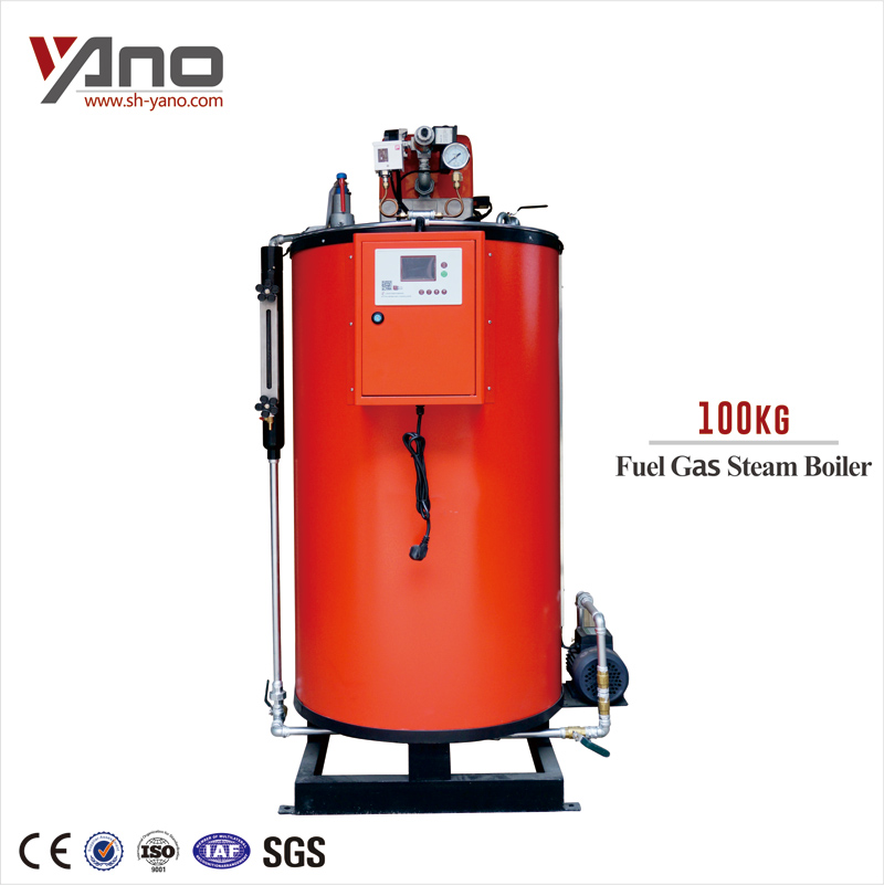 Gold Member 35-100kg/h Low Pressure Oil/Gas Fired Steam Boiler for Packing Machine Heating