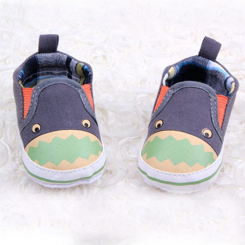 Baby Boy First Walkers 2015 Cute Dinosaur Printing Canvas Shoes For 0-12  Months Newborn 305cf2a6e
