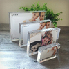 custom size transparent acrylic picture frame with magnets