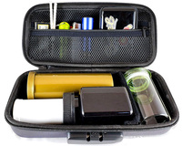 Custom Hard Smoking Accessory EVA Zipper Carrying Smell Proof Stash Case Box with lock
