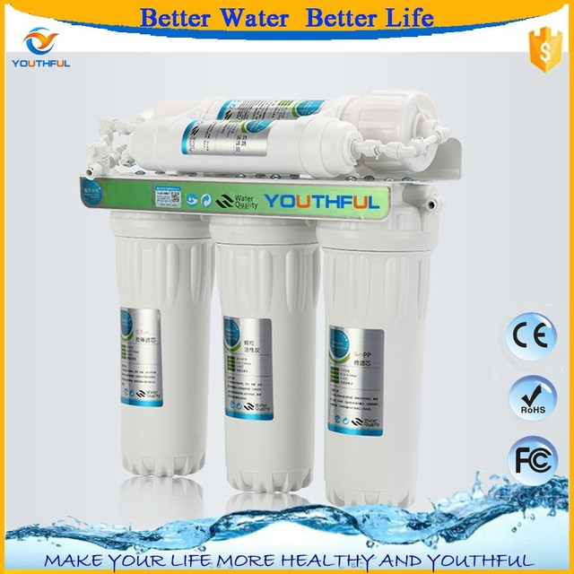 5 Stage Under Sink Water Purification Systems With Ultrafiltration Filter