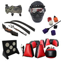 safe inflatable tag archery paintball bunker and target