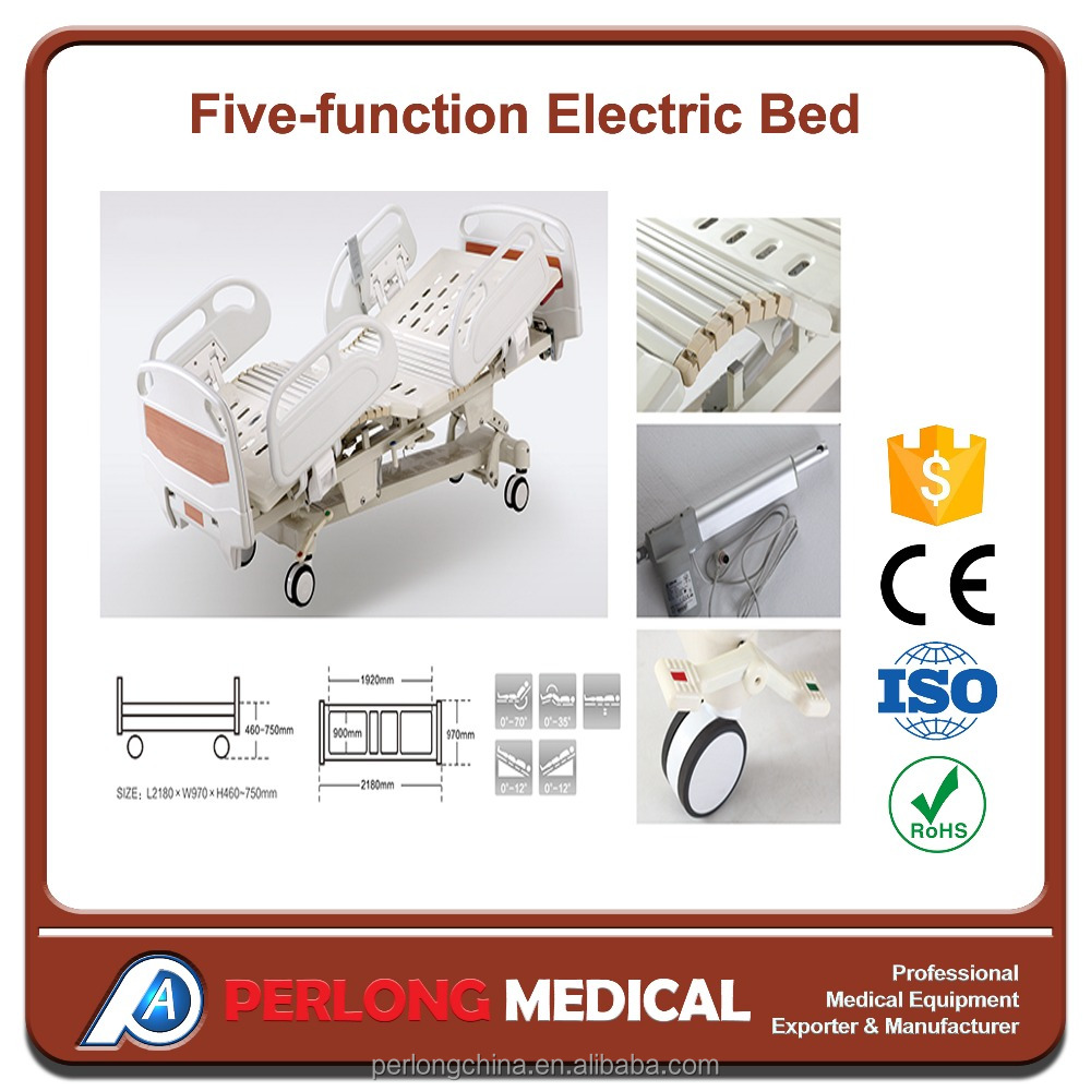 trade assurance 5 function electric hospital folding medical bed price