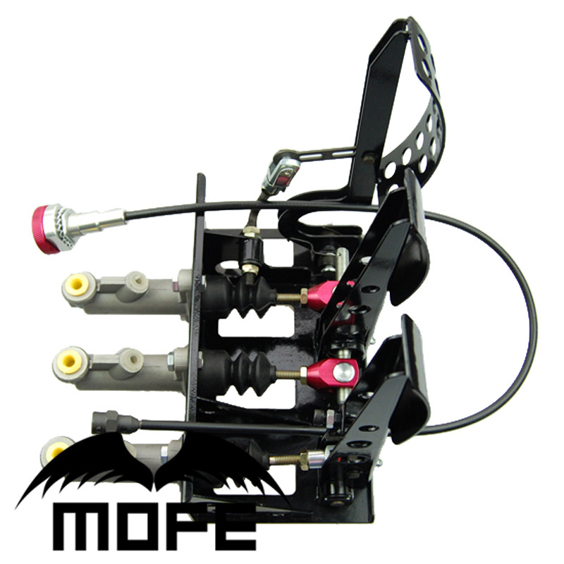 Mofe Racing Floor Mounted Hydraulic Pedal Box Pedal Kit