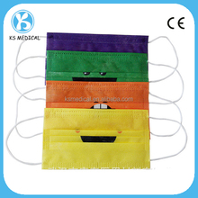 Non woven disposable scented cartoon face mask