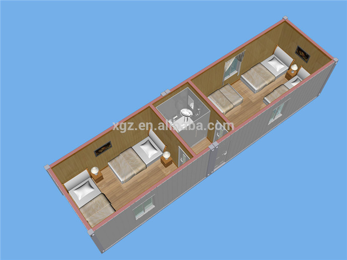 cheap easy assembly prefab steel modular cabins